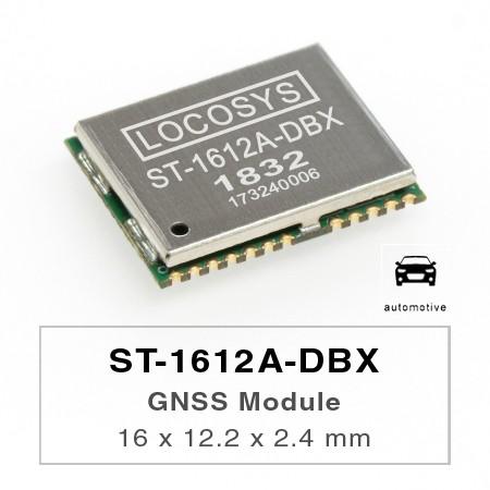 Módulo DR - El módulo LOCOSYS ST-1612A-DBX Dead Reckoning (DR) es la solución perfecta para aplicaciones automotrices.