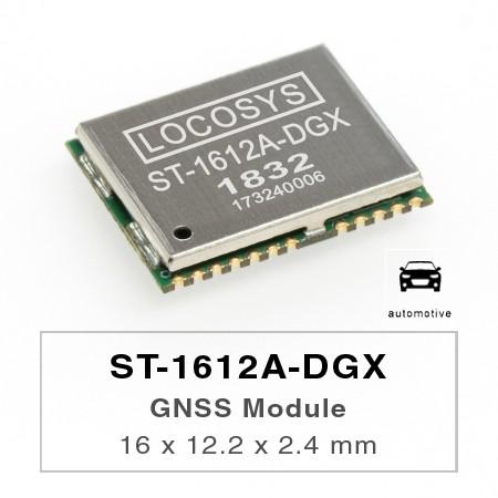 Módulo DR - El módulo LOCOSYS ST-1612A-DGX Dead Reckoning (DR) es la solución perfecta para aplicaciones automotrices.
