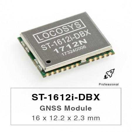 Módulo DR - El módulo LOCOSYS ST-1612i-DBX Dead Reckoning (DR) es la solución perfecta para aplicaciones automotrices.