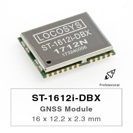 Module DR - The LOCOSYS ST-1612i-DBX Dead Reckoning (DR) module is the perfect solution for automotive application.