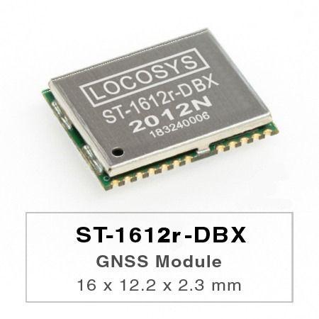 Module de reprise après sinistre - Le module LOCOSYS ST-1612r-DBX Dead Reckoning (DR) est la solution parfaite pour les applications automobiles.