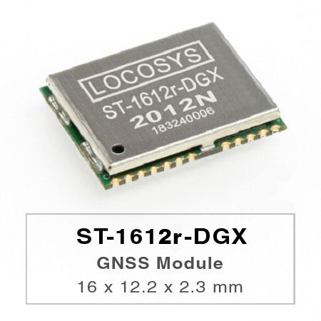 DR Module - The LOCOSYS ST-1612r-DGX Dead Reckoning (DR) module is the perfect solution for automotive application.