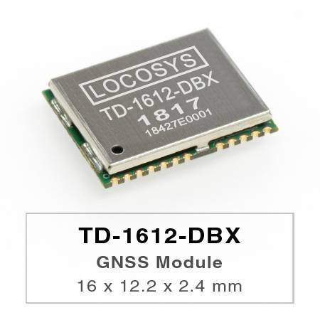 DR Module - The LOCOSYS TD-1612-DBX Dead Reckoning (DR) module is the perfect solution for automotive application.