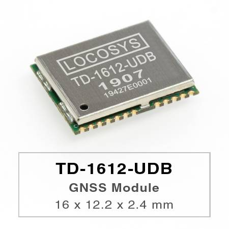 DR Module - The LOCOSYS TD-1612-UDB Dead Reckoning (DR) module is the perfect solution for automotive application.