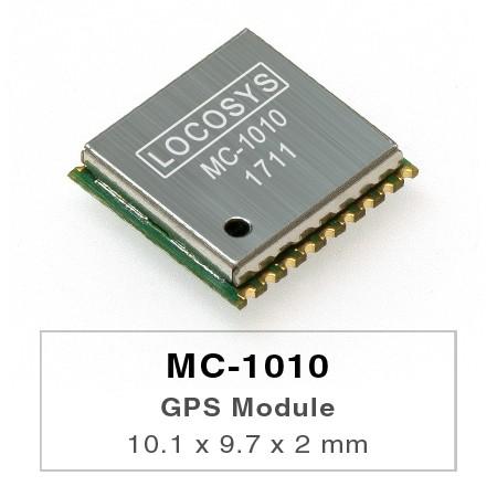 Módulos GPS - El módulo LOCOSYS GPS MC-1010 presenta alta sensibilidad, baja potencia y factor de forma ultra pequeño.