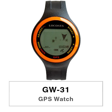 GPS Watch GW-31 - An affordable GPS watch to discover more for outdoor activities.