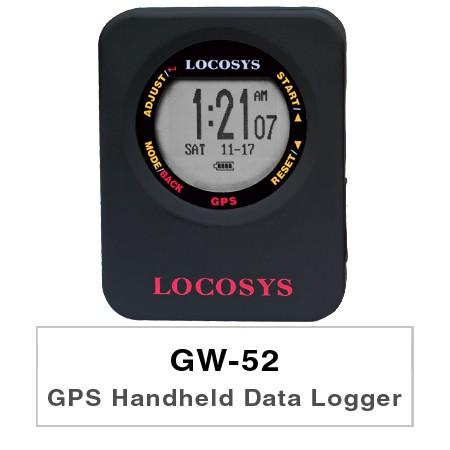 Enregistreur de données portable GPS GW-52