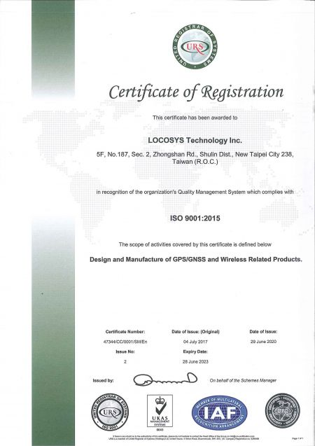 LOCOSYSTECH ISO9001-2015