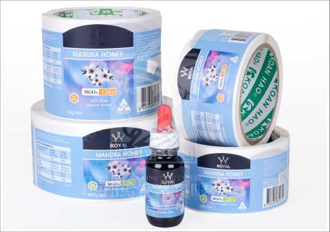 Bottle Labels for health products