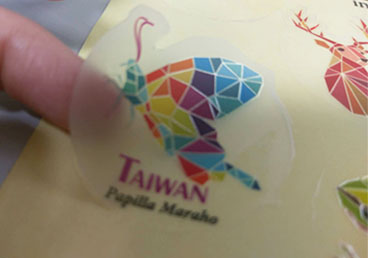 Printed Clear Labels - Printing Clear Labels