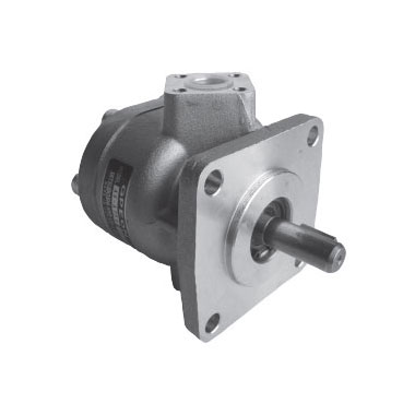 Forklift use gear pumps