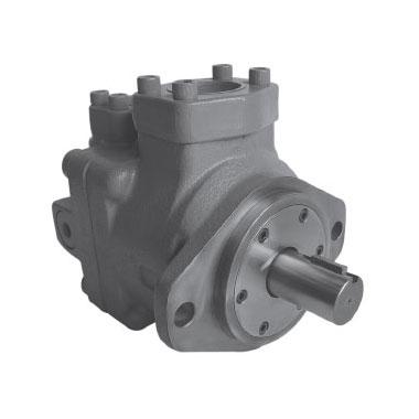 Single high pressure vane pumps
