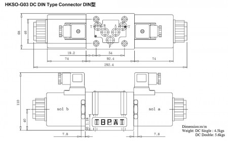 HKSO-G03 DC DIN Type Connector