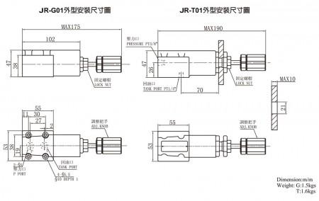 JR-G01 / JR-T01