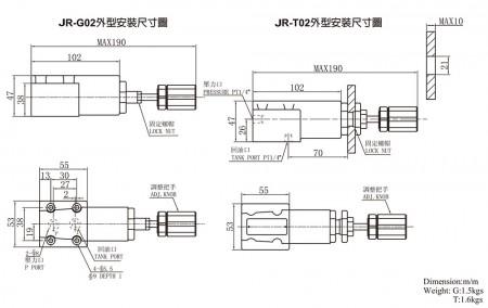 JR-G02 / JR-T02
