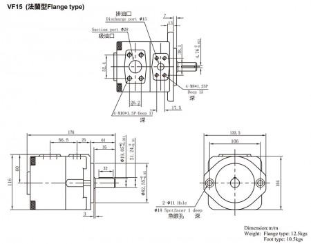 VF15 (Flange Type)
