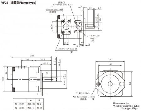 VF25 (Flange Type)