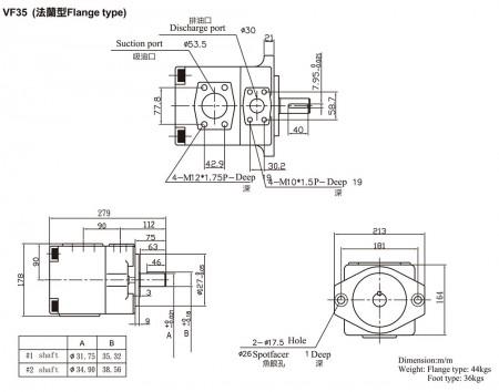 VF35 (Flange Type)
