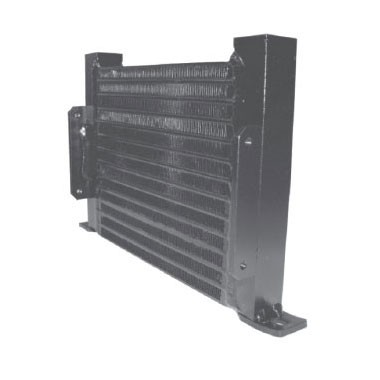 Plate-Fin heat exchanger for vane pumps