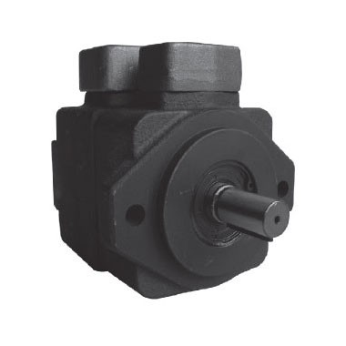 Single high pressure vane pumps