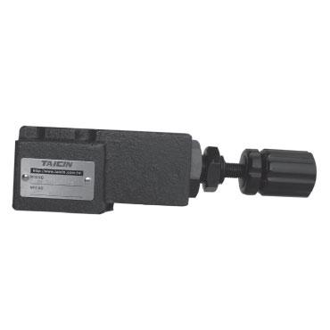 vanne pour contrôler la pression à distance dans les systèmes hydrauliques
