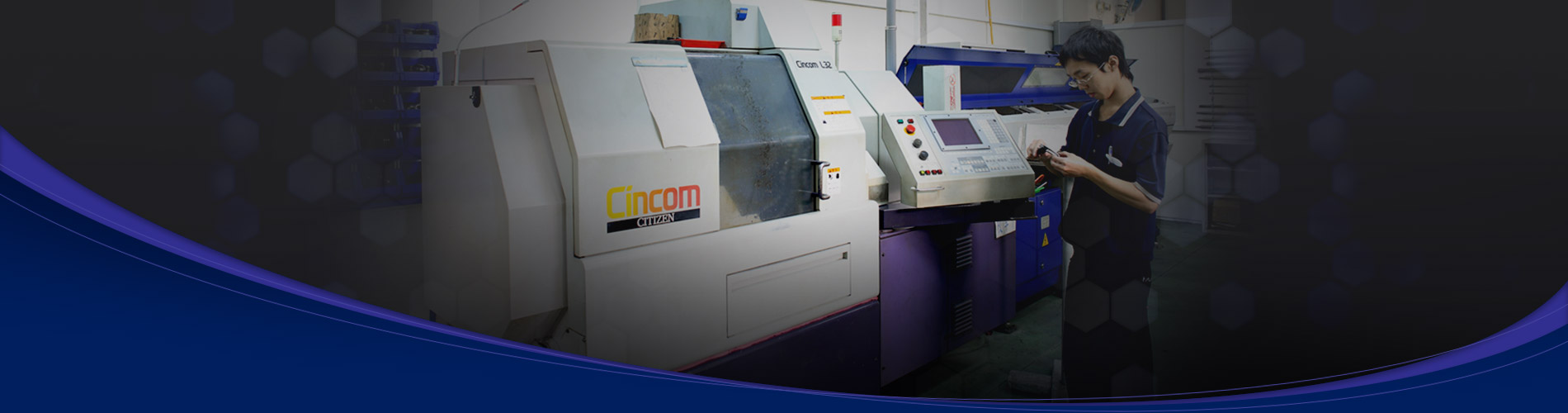 Provide excellent product by precision machining