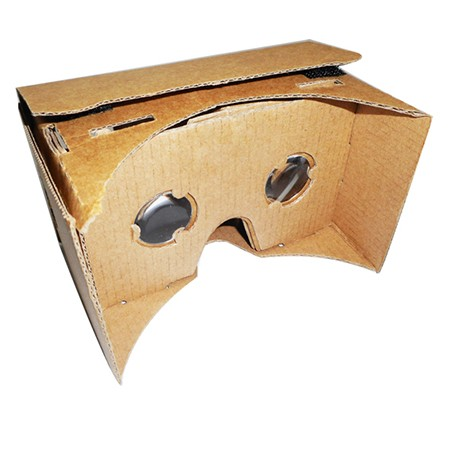 Cardboard Virtual Reality Google VR Box | Magnifying Glasses Supply