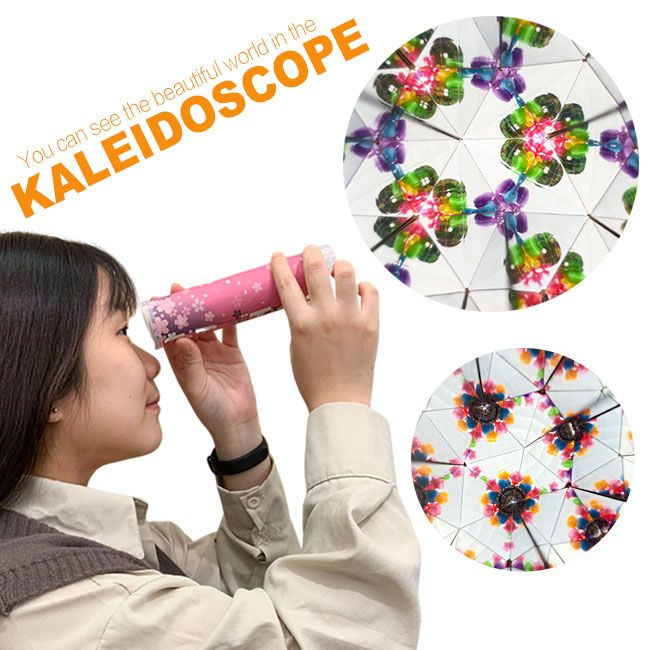 DIY educational kaleidoscope for kids