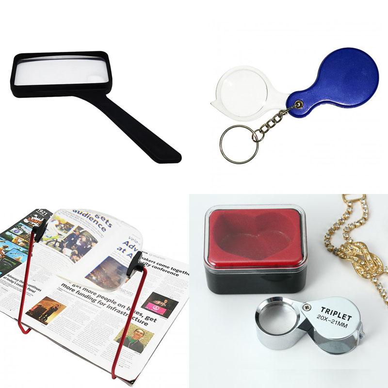 ee9bc2ba07 Molti tipi di lente d'ingrandimento: lente d'ingrandimento manuale, lente d