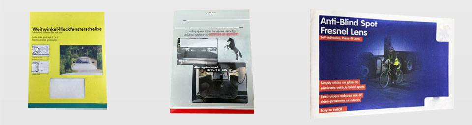 Parking Reversing Car Window Aid Packing Reference