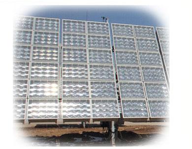 태양열 집광기 용 프레 넬 렌즈