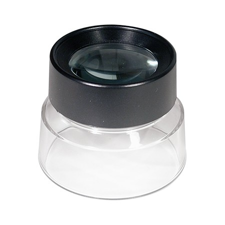 10X Jewelers Loupe Magnifier on Stand - 10X Jewelers Loupe Stand Magnifier