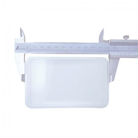 2.5X Rectangular acrylic Lens