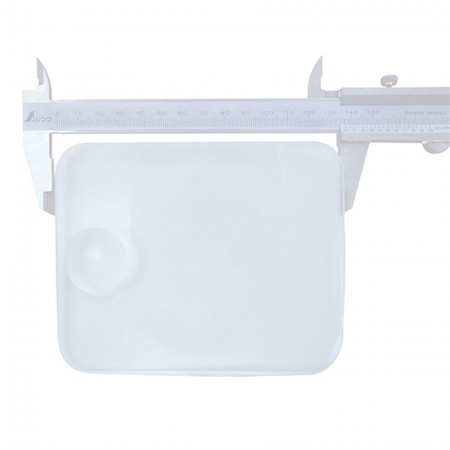 2X Rectangular Plastic Lens 3.5X Bifocal