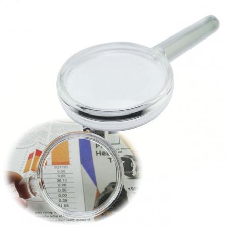 2-in-1 Bar Handheld Magnifier Handle Magnifying Glass - handheld magnifier with bar magnifier handle