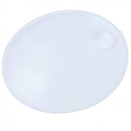 Round Acrylic Biconvex Magnifying Lens with 4X Bifocal/Dia. 130mm - 2.5X 13cm Round acrylic Lens 4X Bifocal