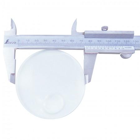 2.5X Round Plastic Lens 4X Bifocal