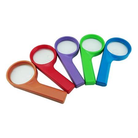 2inch Multiple color lens pocket magnifier - 2inch Multiple color lens pocket magnifier