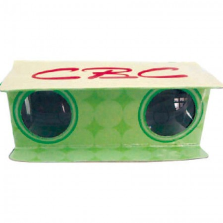3X Cardboard Binoculars for Kids - 3X Cardboard Binoculars for Kids