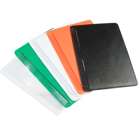 3X Credit Card Size Magnifier with Vinyl Pouch - 3X Credit Card Size Magnifier with PVC Case