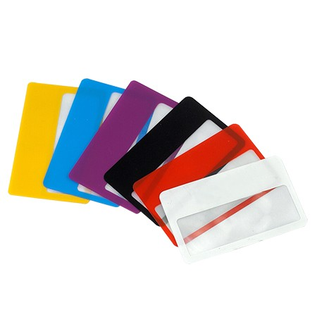 3X Credit Card Wafer-Thin Magnifier - 3X Credit Card Wafer-thin Magnifier