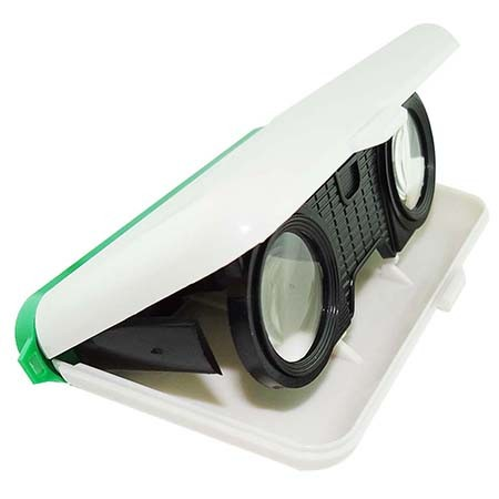 3X Foldable Plastic Kids Binoculars - 3X Foldable Plastic Kids Binoculars