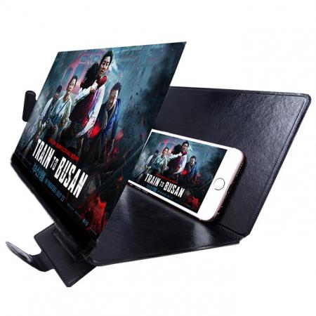 "8.3"" 3X Moblie Screen Magnifier With Foldable Cover - 3X Moblie Screen Magnifier With Foldable Cover"