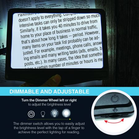 Rechargeable LED Magnifier
