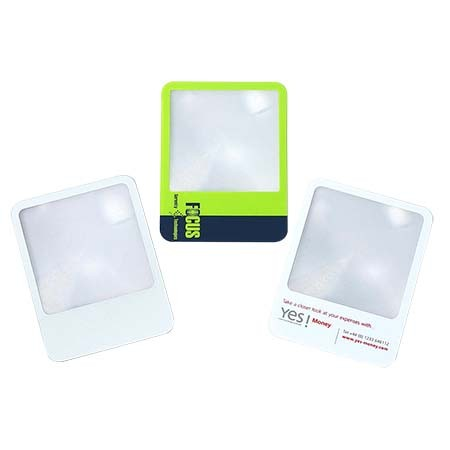 3X Straight Credit Card Wafer-Thin Magnifier