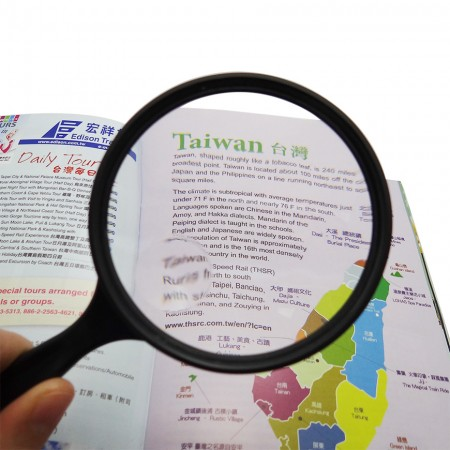 3X Round reading magnifier 5X Bifocal