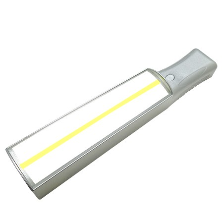 4X LED Lighted Bar Hand Held Magnifier with Yellow Tracker Line - 4X LED Lighted Bar Hand held reading magnifier