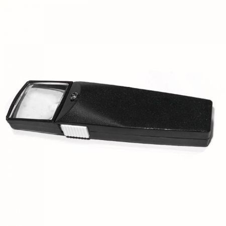 2X / 4X Lighted Pocket Rectangular Magnifier Magnifying Glass - 2X / 4X Lighted Pocket Rectangular Magnifier Magnifying Glass