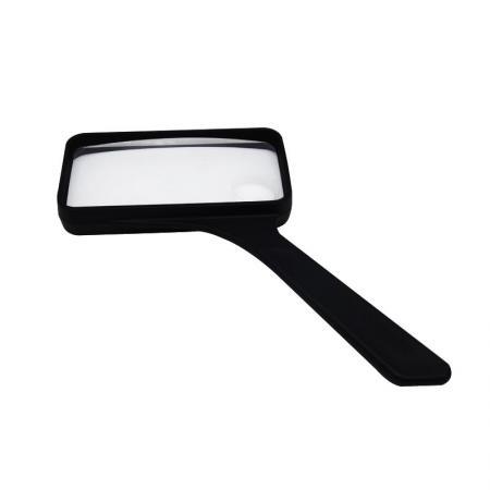Plastic Rectangular Handheld Magnifier 2 inch x 4inch - Plastic Rectangular Handheld Magnifier 2 inch x 4inch