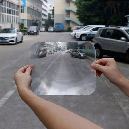 Soft PVC Parking Reversing Car Window Aid-Big - Wide Angle Parking Reversing Lens
